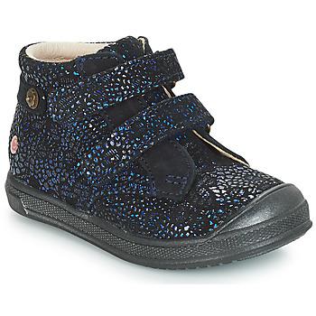 Boty Dívčí Kotníkové boty GBB RACHEL Modrá / Tmavě modrá