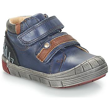 Boty Chlapecké Kotníkové boty GBB REMI Modrá