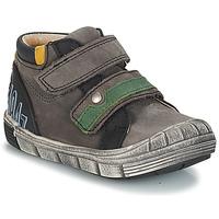 Boty Chlapecké Kotníkové boty GBB REMI Šedočerná