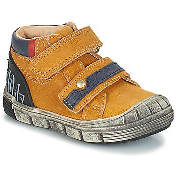 Boty Chlapecké Kotníkové boty GBB REMI Žlutá