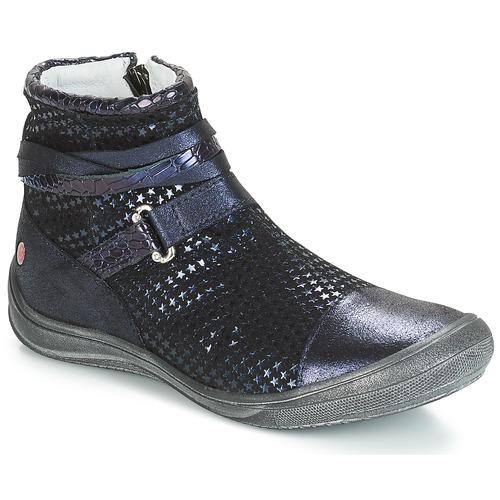 Boty Dívčí Kotníkové boty GBB ROCHELLE Modrá