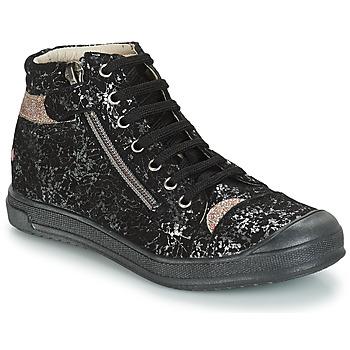 Boty Dívčí Kotníkové boty GBB DESTINY Černá-zlatá