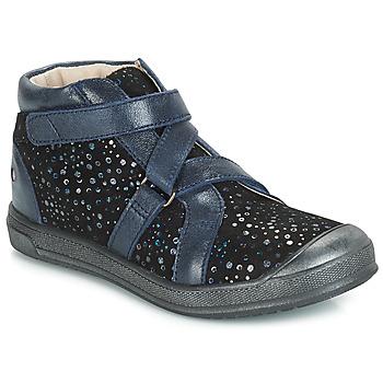 Boty Dívčí Kotníkové boty GBB NADEGE Černá