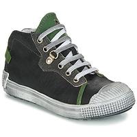 Boty Chlapecké Kotníkové boty GBB RONALD Černá-zelená
