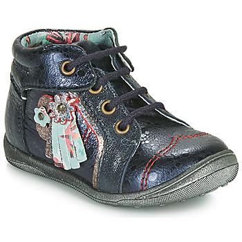 Boty Dívčí Kotníkové boty Catimini RAINETTE Tmavě modrá