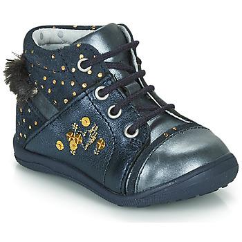 Boty Dívčí Kotníkové boty Catimini ROULETTE Tmavě modrá