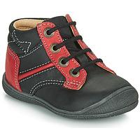 Boty Chlapecké Kotníkové boty Catimini RATON Černá / Červená