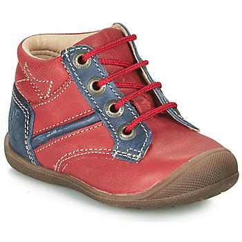 Boty Chlapecké Kotníkové boty Catimini RATON Červená / Tmavě modrá