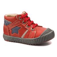 Boty Chlapecké Kotníkové boty Catimini RENARD červená - modrá