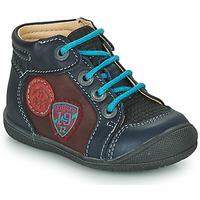 Boty Chlapecké Kotníkové boty Catimini REGLISSE Tmavě modrá