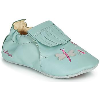 Boty Dívčí Papuče Catimini RHIZINE Modrá