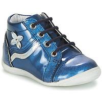 Boty Dívčí Kotníkové boty GBB SHINA Modrá - potisk