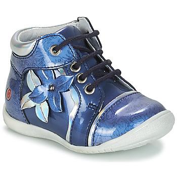 Boty Dívčí Kotníkové boty GBB SONIA Modrá - potisk