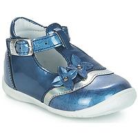 Boty Dívčí Baleríny  GBB SELVINA Modrá