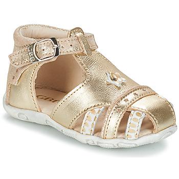 Boty Dívčí Sandály GBB SUZANNE Zlatá