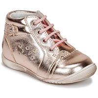 Boty Dívčí Nízké tenisky GBB SIDONIE Růžová / Zlatá