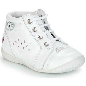 Boty Dívčí Kotníkové boty GBB SIDONIE Bílá