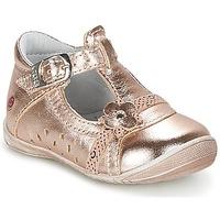 Boty Dívčí Baleríny  GBB SIXTINE Růžová / Zlatá