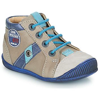 Boty Chlapecké Kotníkové boty GBB SILVIO Béžová / Modrá