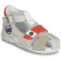 Boty Chlapecké Sandály GBB SULLIVAN Béžová / Červená