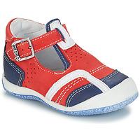 Boty Chlapecké Sandály GBB SIGMUND Červená / Modrá