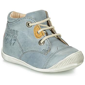 GBB Kotníkové boty Dětské SAMUEL - Modrá