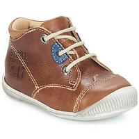 Boty Chlapecké Kotníkové boty GBB SAMUEL Světle hnědá