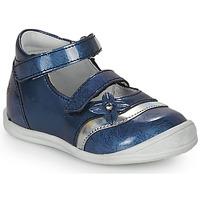 Boty Dívčí Sandály GBB STACY Modrá - potisk
