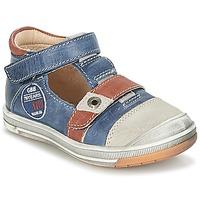 Boty Chlapecké Sandály GBB SOREL Tmavě modrá / Hnědá