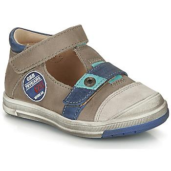 Boty Chlapecké Sandály GBB SOREL Šedobéžová / Modrá