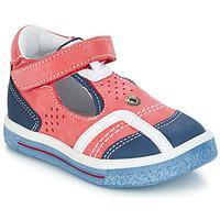 Boty Chlapecké Sandály GBB SALVADORE červená - modrá
