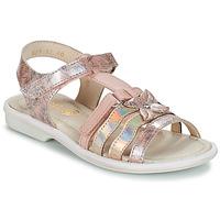 Boty Dívčí Sandály GBB SCARLET Růžová