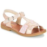 Boty Dívčí Sandály GBB SHANTI Růžová