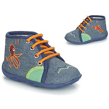 Boty Chlapecké Papuče GBB PABLITO Tmavě modrá