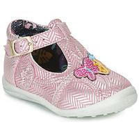 Boty Dívčí Kotníkové boty Catimini SOLEIL Růžová - stříbrná