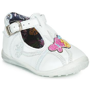 Boty Dívčí Kotníkové boty Catimini SOLEIL Bílá