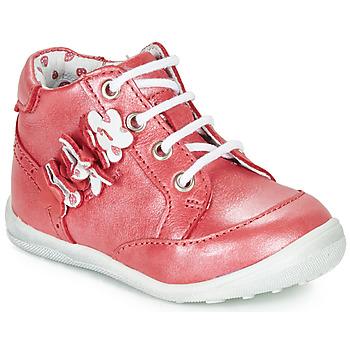 Boty Dívčí Kotníkové boty Catimini SOLDANELLE Červená