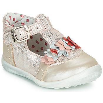 Boty Dívčí Kotníkové boty Catimini SALICORNE Růžová