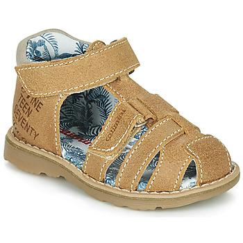 Boty Chlapecké Sandály Catimini SYCOMORE Světle hnědá