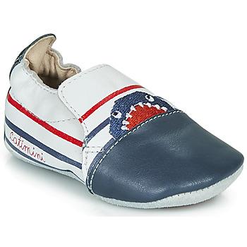 Boty Chlapecké Papuče Catimini SIMOCYBE Tmavě modrá / Bílá / Červená