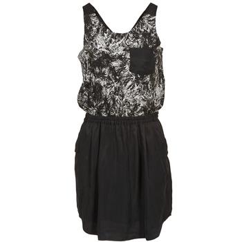 Textil Ženy Krátké šaty School Rag ROXANA Černá