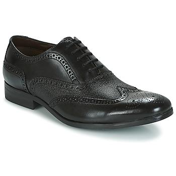 Boty Muži Šněrovací společenská obuv Clarks GILMORE LIMIT Černá