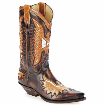 Sendra boots Kozačky CHELY - Hnědá