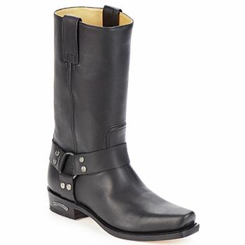 Sendra boots Kozačky EDDY - Černá