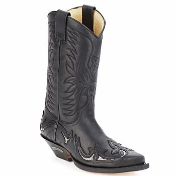 Sendra boots Kozačky CLIFF - Černá