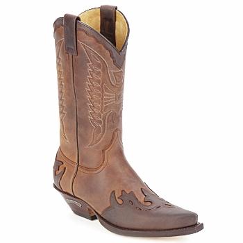 Sendra boots Kozačky DAVIS - Hnědá