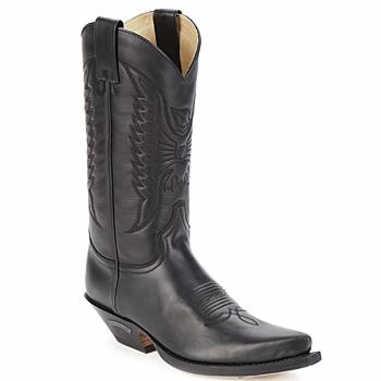 Sendra boots Kozačky FLOYD - Černá