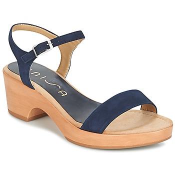 Boty Ženy Sandály Unisa IRITA Tmavě modrá