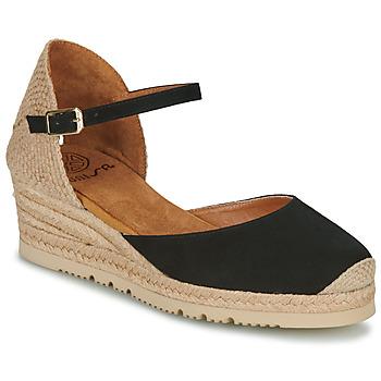 Boty Ženy Sandály Unisa CISCA Černá