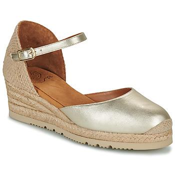 Boty Ženy Sandály Unisa CISCA Zlatá